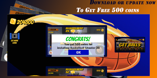Basketball Shooter 3D - Best Ball Shooting Game android2mod screenshots 2