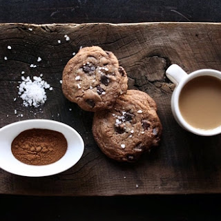 Salted Mexican Hot Chocolate Cookies