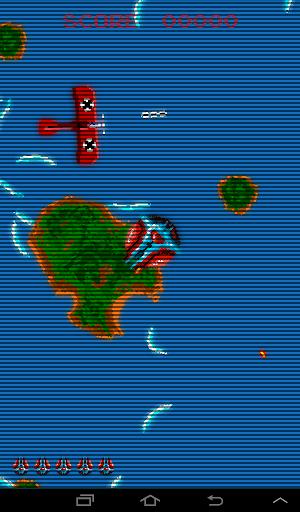Retro Time Pilot Arcade apkpoly screenshots 1