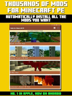 Mods for Minecraft PE- screenshot thumbnail