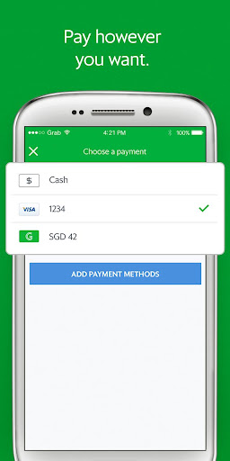 Grab - Cars, Bikes & Taxi Booking App screenshot