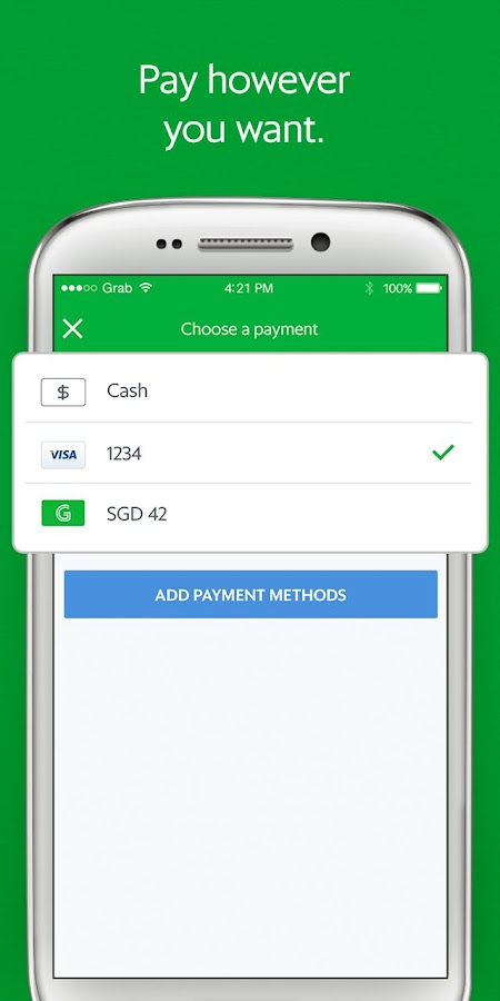 Grab - Cars, Bikes & Taxi Booking App- screenshot