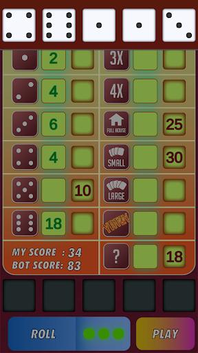 Yatzy Classic Dice Game - Offline Free 3.1 screenshots 6