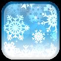 Copo de nieve fondo animado