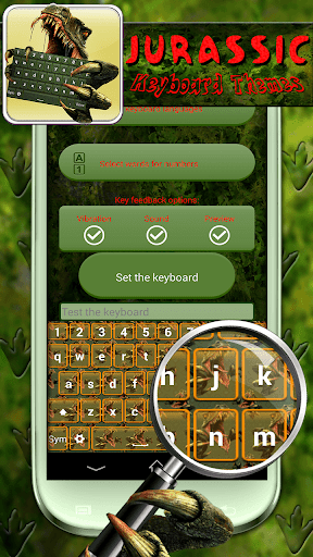 恐竜キーボード