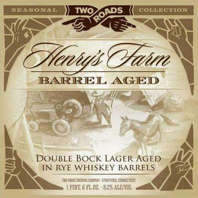 Logo of Two Roads Henry's Farm Barrel-Aged