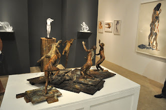 Photo: Eric Fischl at Hexton Modern and Contemporary