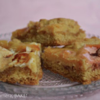 Caramel, Marshmallow Cookie Bars.