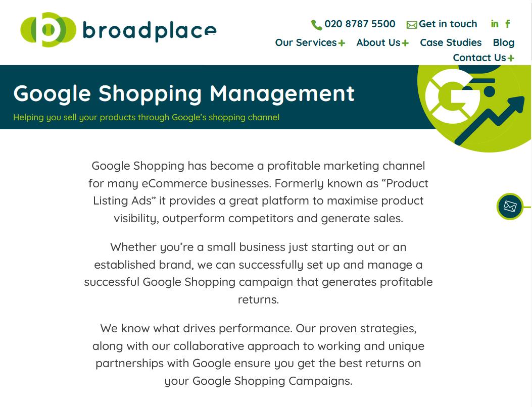 Best Surrey Google Shopping Agency