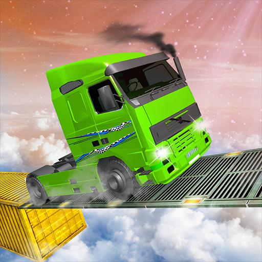 Euro Truck Impossible Tracks Stunt Racing