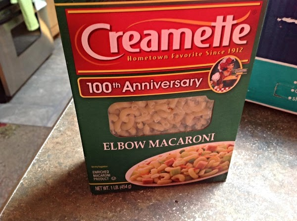Preheat oven to 350 degrees F. Cook macaroni according to directions on box for...