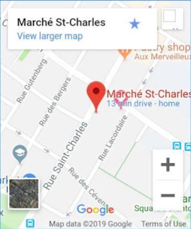 サンシャルルのマルシェパリ15区