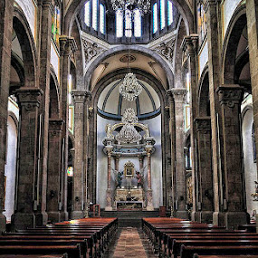 Less Faith by Esteban Rios - Buildings & Architecture Other Interior ( interior, churche, perspective )