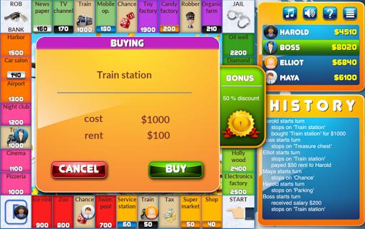 CrazyPoly - Business Dice Game Apk 2