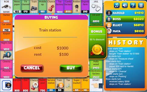 CrazyPoly – Business Dice Game App Latest Version  Download For Android 2