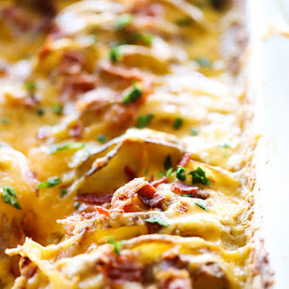 Scalloped Potatoes With Bacon And Cream Recipes