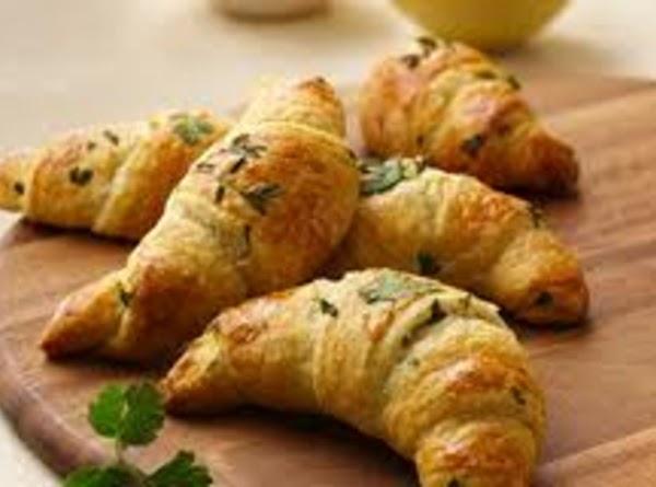 Freezer Bread Parsley Crescent Rolls. Recipe
