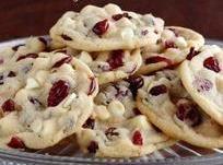 Cranberry-strawberry Cookies Recipe