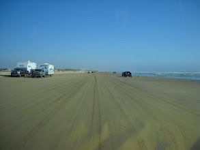 Photo: Entering the camping area at Pismo Beach