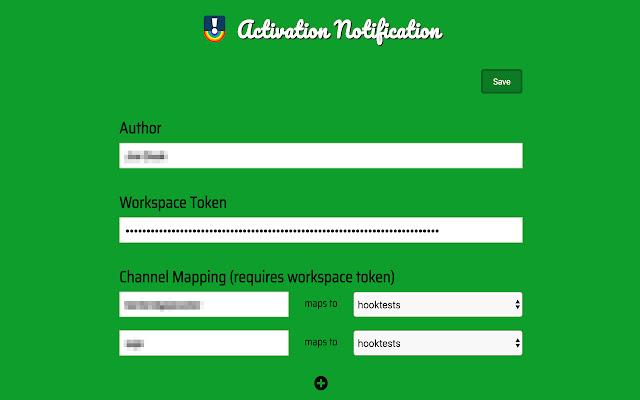 Activation Notification