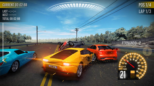 Extreme Asphalt : Car Racing ss2