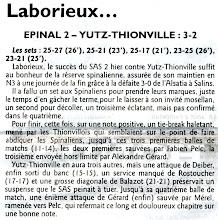 Photo: 22-04-2012 Epinal 2 - Yutz-Thionville 3-2