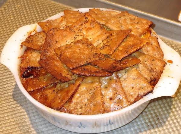 Cheese Pie!  (the Cheese Pie In These Photos Is Actually Only Half As Large As The One You'll Get If You Follow The Directions For The Recipe, So Don't Be Fooled By The Small Casserole You See Here.  I Was Just Making This One For Me And My Husband.)