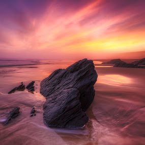 Rock of Dreams by Hendrik Frier - Landscapes Waterscapes