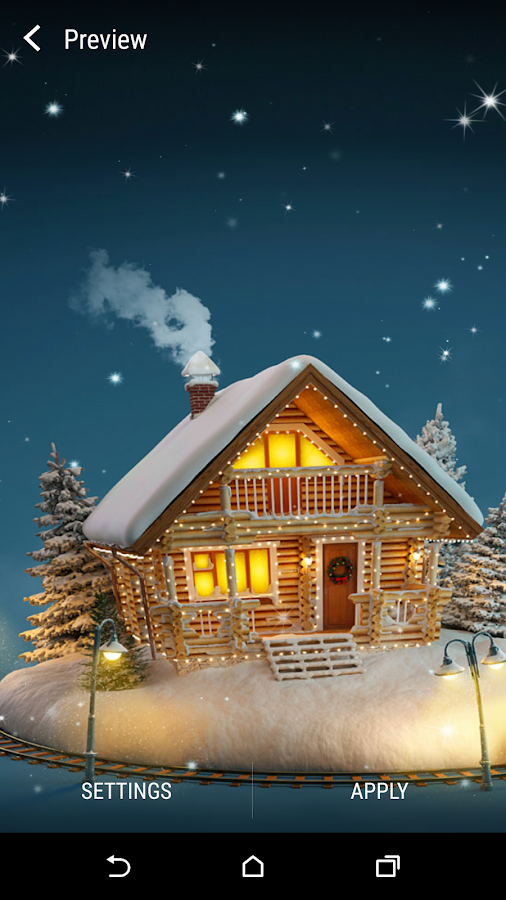 3d Christmas Live Wallpaper Android Apps On Google Play