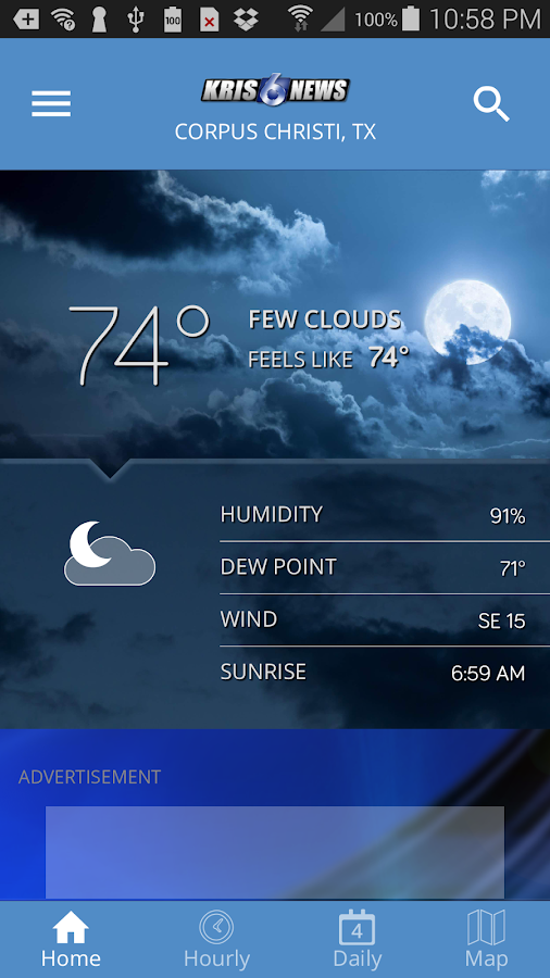 KRIS Weather- screenshot