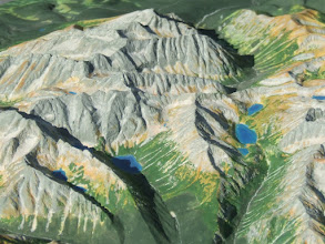 Photo: High Tara Mts. Relief Map