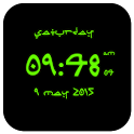 Arabic Digital Clock LWP icon
