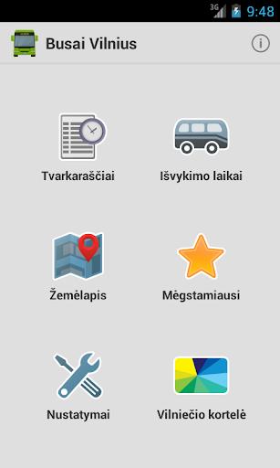 Busai Vilnius screenshots 1