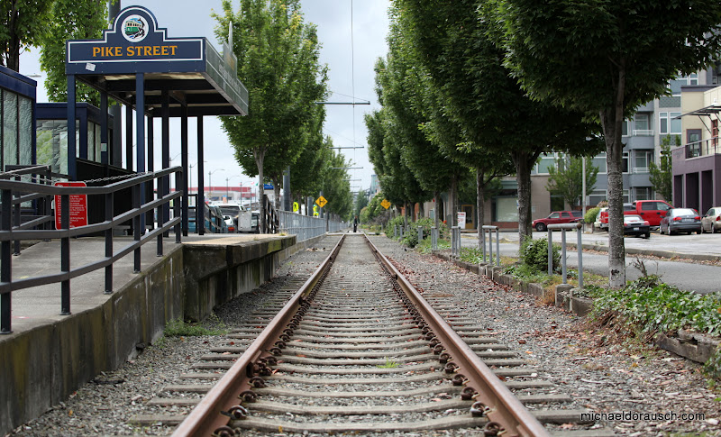 Photo: Pike Street Rail Seattle