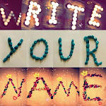 write your name in beautiful picture Icon