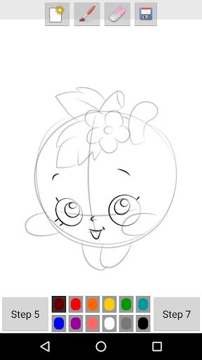 玩免費遊戲APP|下載How to Draw Cute Food app不用錢|硬是要APP