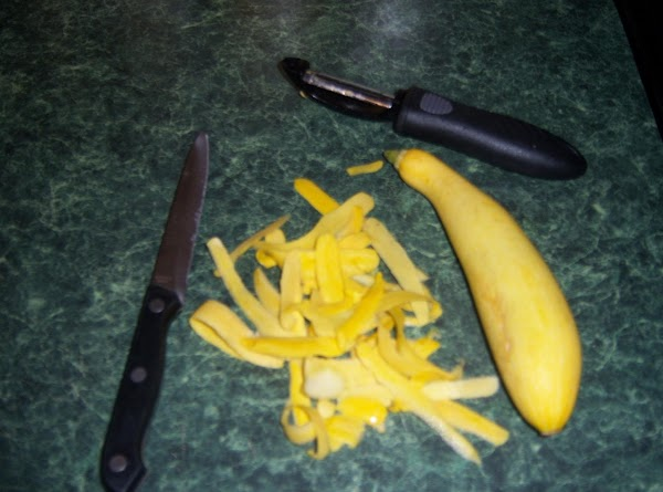 Peel squash with a potato peeler(my preference)