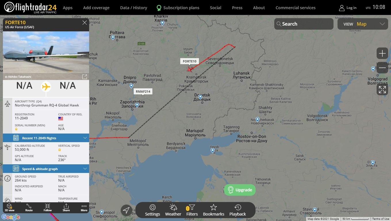 Концентрация войск РФ на границе с Украиной - круги на воде