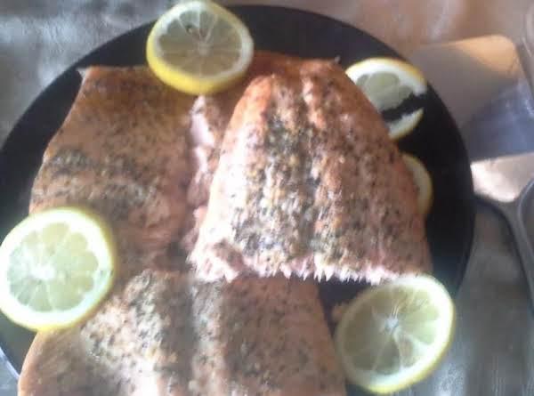 Mertzie's Spinach Stuffed Salmon Supreme Recipe