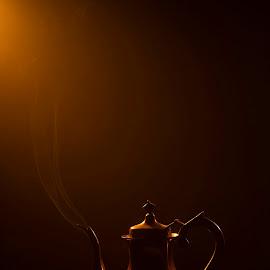 smoke by Andreea Muntean - Artistic Objects Antiques ( studio, speedlite, fine art, smoke, antique, colors )