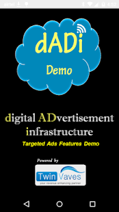 dADi Demo, Personalized Ads- screenshot thumbnail