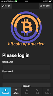 Bitcoin Of America- screenshot thumbnail