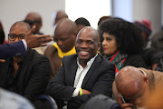 Ex SABC boss, now ACM leader, Hlaudi Motsoeneng is pictured at the commission of inquiry into state capture on July 19 2019 in Parktown, Johannesburg.