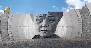 Mural contra la violencia machista.