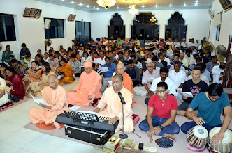 Photo: Many Bhajans on Guru were sung.