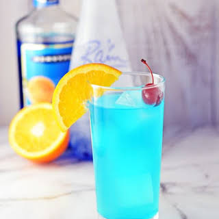 Blue Lagoon Cocktail.