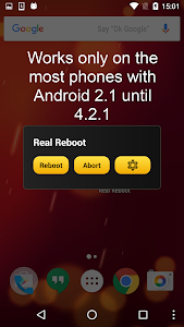 Real Reboot screenshot 0