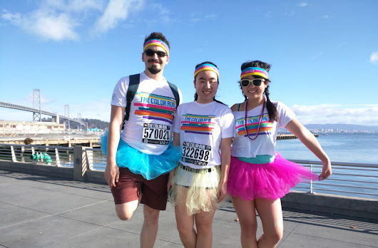 Color Run: Sunday in San Francisco
