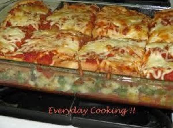 Tomato Bread Casserole/lasagna Recipe