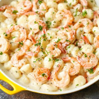 Garlic Cream Sauce Gnocchi Recipes.